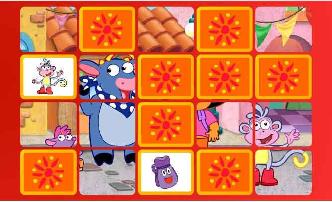 Click Here to play Dora's Matching Game